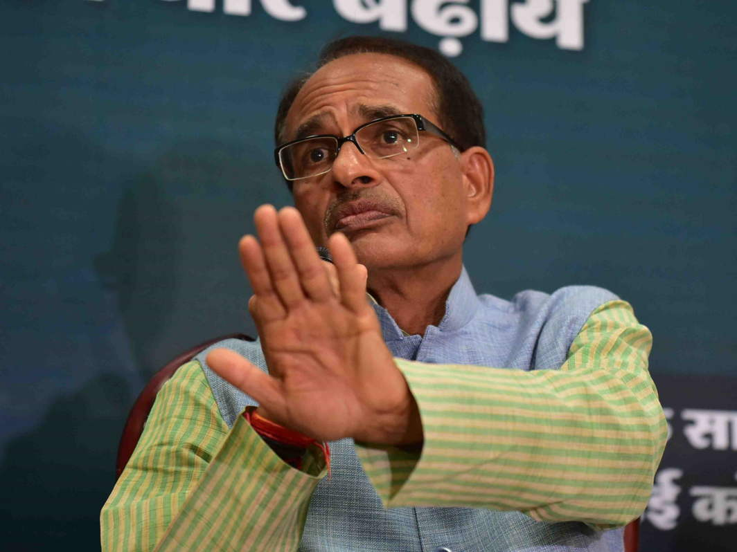 File photo of Madhya Pradesh chief minister Shivraj Singh Chouhan. Credit: Agencies.