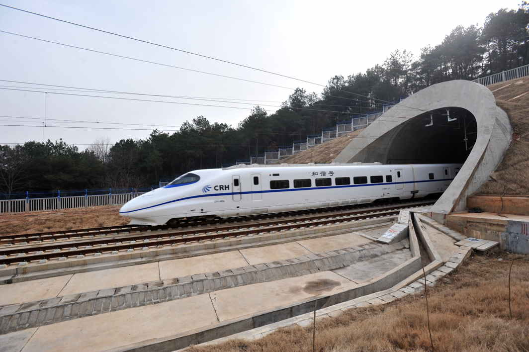 India high speed train
