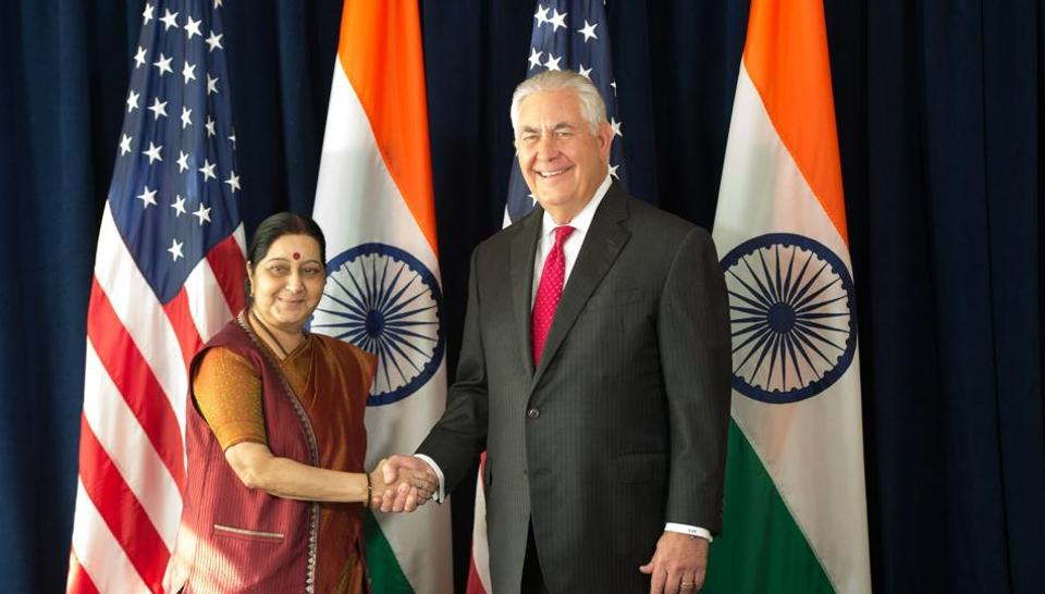 tillerson and sushma