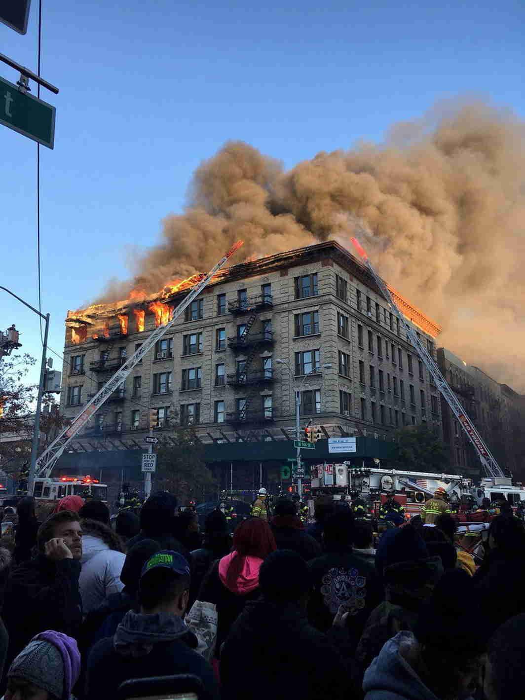 explosion manhattan 2017