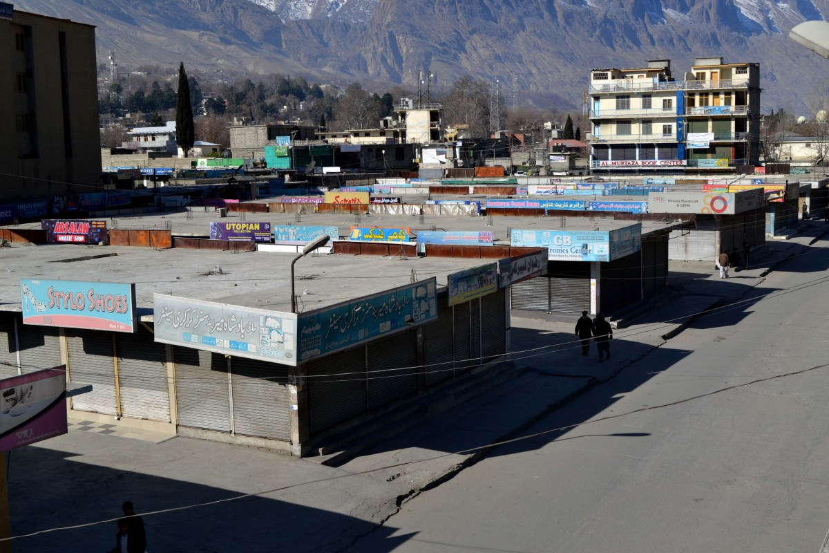 Massive strike against taxes in Gilgit Baltistan