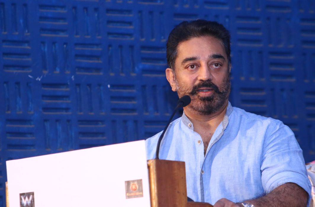 BJP likens Kamal Haasan with Hafiz Saeed over actor's 'Hindu terrorists' remark