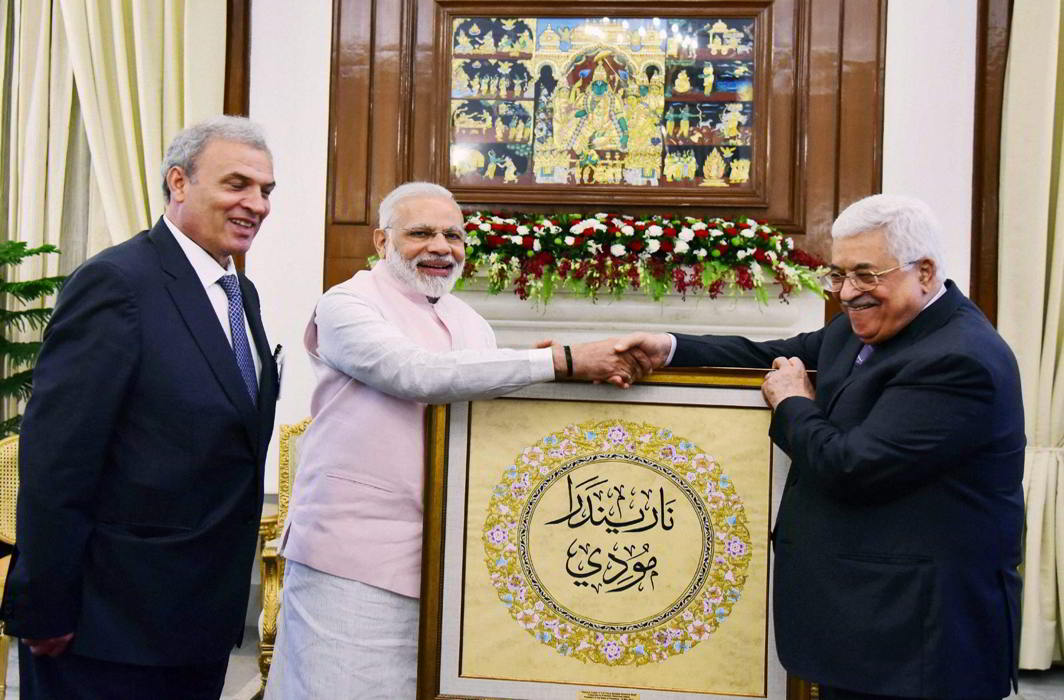India struck a balancing act between Israel and Palestine at the UN