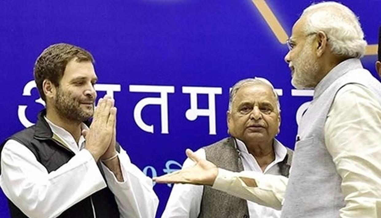 Rahul and Narendra Modi