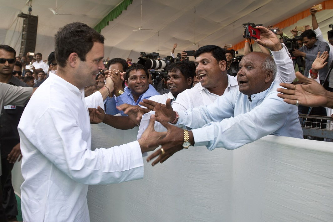 Rahul on campaign trail: Gujarat a fight between truth and falsehood, truth on our side