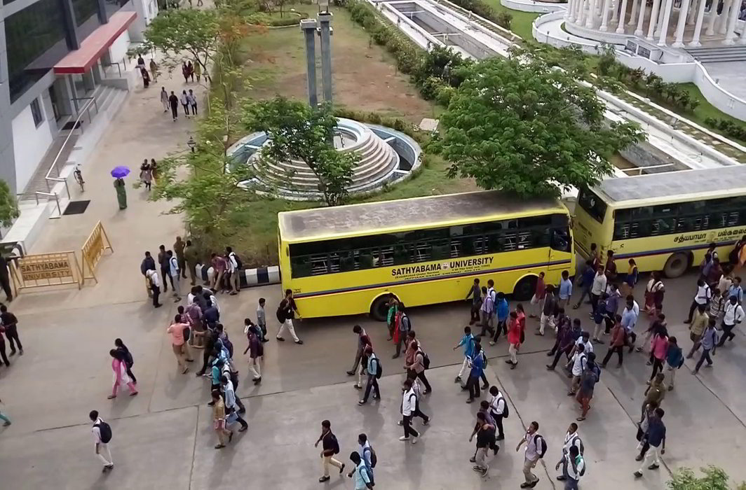 Violence rocks Chennai's Sathyabama University after student commits suicide