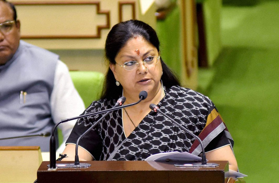 Raje govt orders SC, ST and OBC hostels to play national anthem to instill patriotism