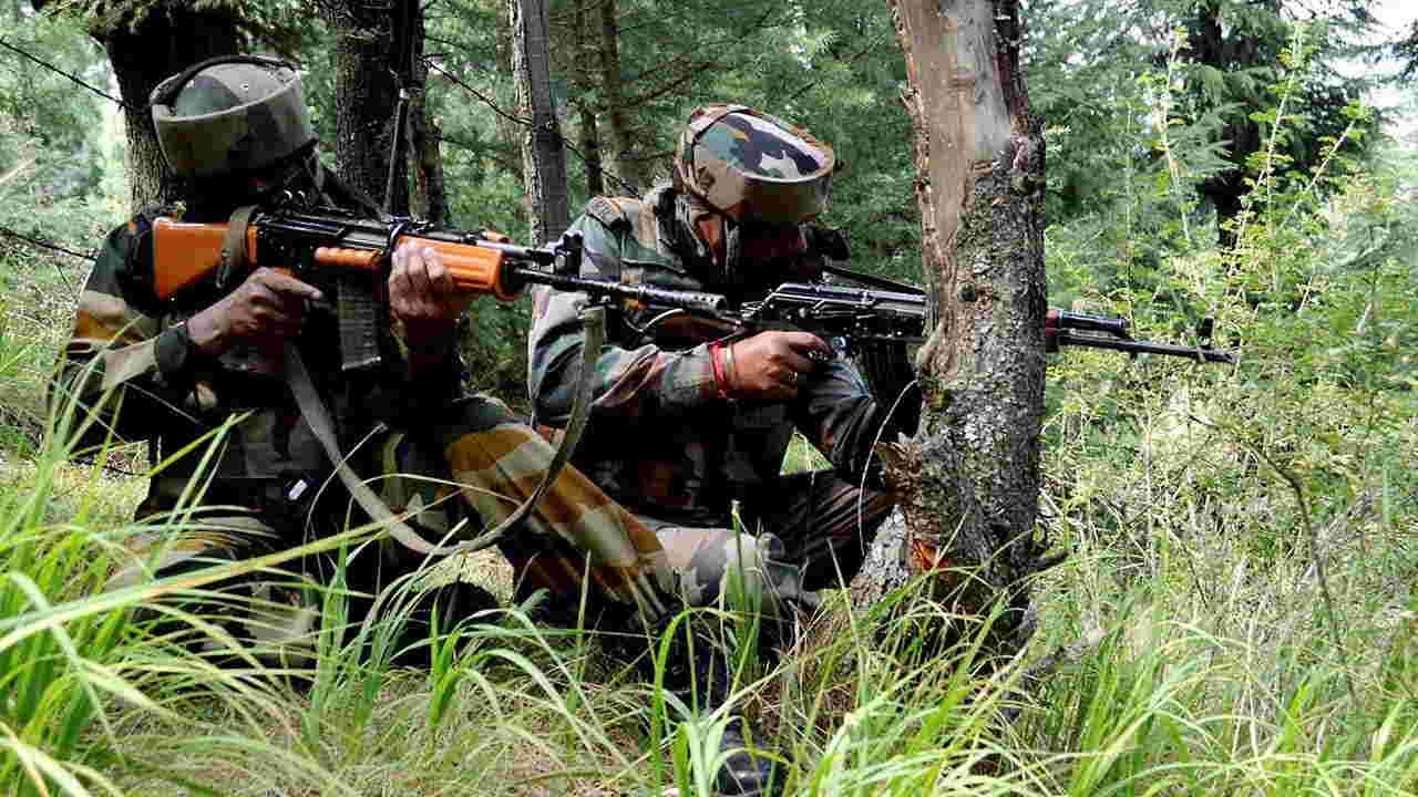 encounter in kashmir by army