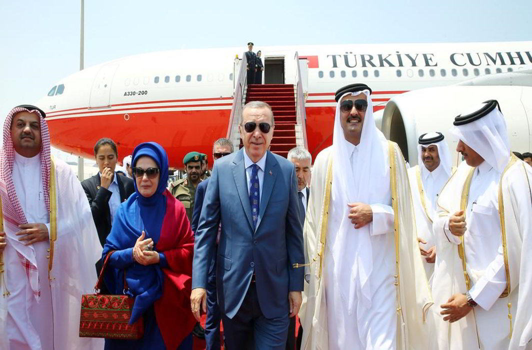Erdogan arrives in Qatar to discuss bilateral and regional issues