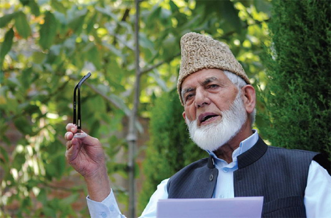 Hurriyat asks government to stop pellet guns, involve Pakistan in talks to solve Kashmir issue