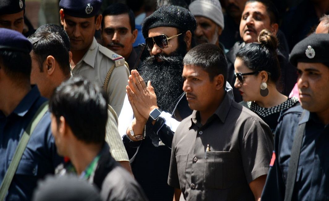 Gurmeet Ram Rahim receives VIP treatment in Rohtak jail, claims inmate