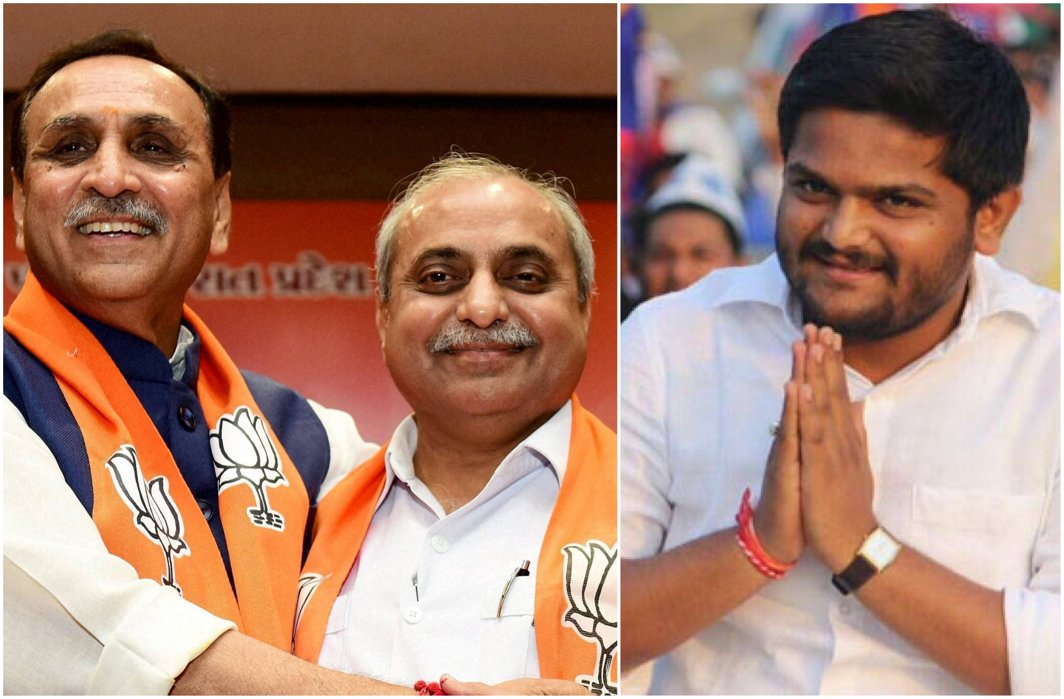 Gujarat Deputy CM Nitin Patel miffed at portfolio allocation; Hardik Patel offers to join hands