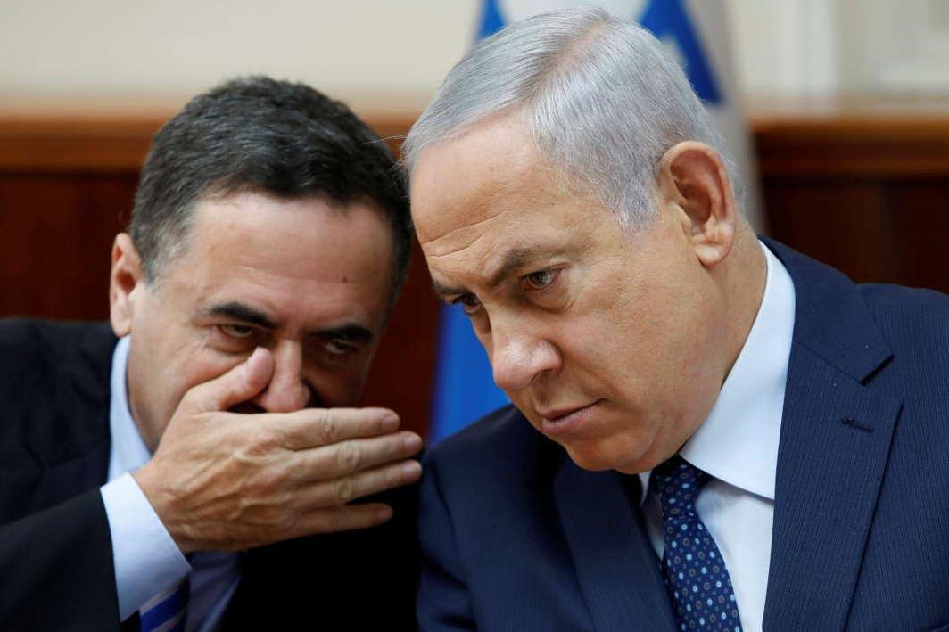 Israel-PM-with-minister