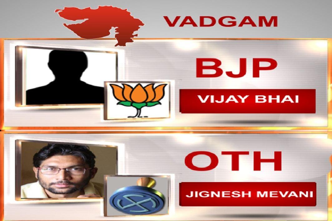 Jignesh Mevani in the lead
