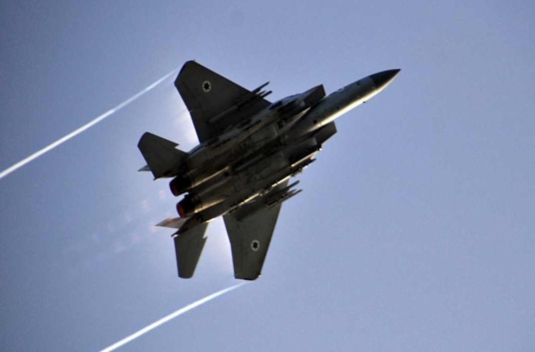 Israel hits missiles at military post near Damascus