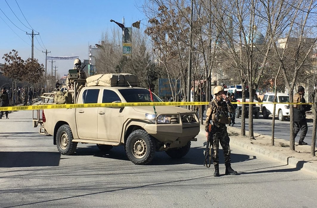 40 killed in deadly suicide attack on Shia centre in Kabul