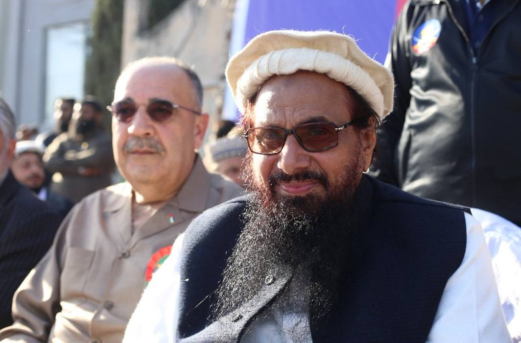 India angry over Palestinian Ambassador sharing dais with Hafiz Saeed