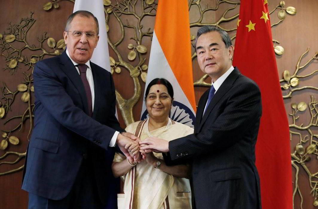 India hosts Foreign Ministers of Russia, China for RIC dialogue