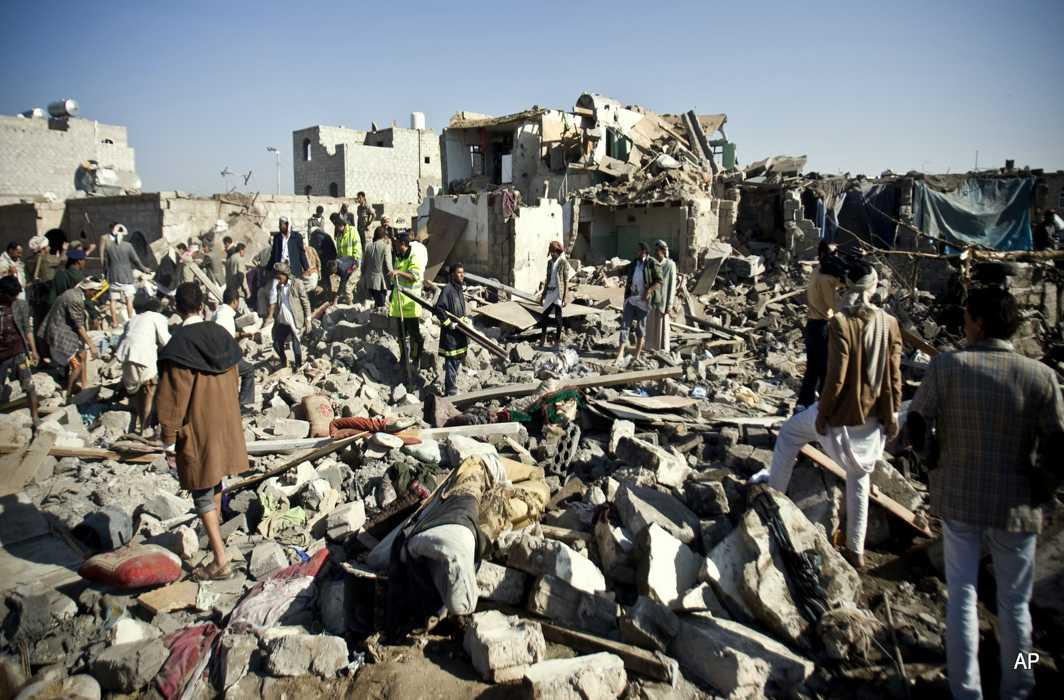 Saudi unleash bombing on Yemen, Saleh's fate not known