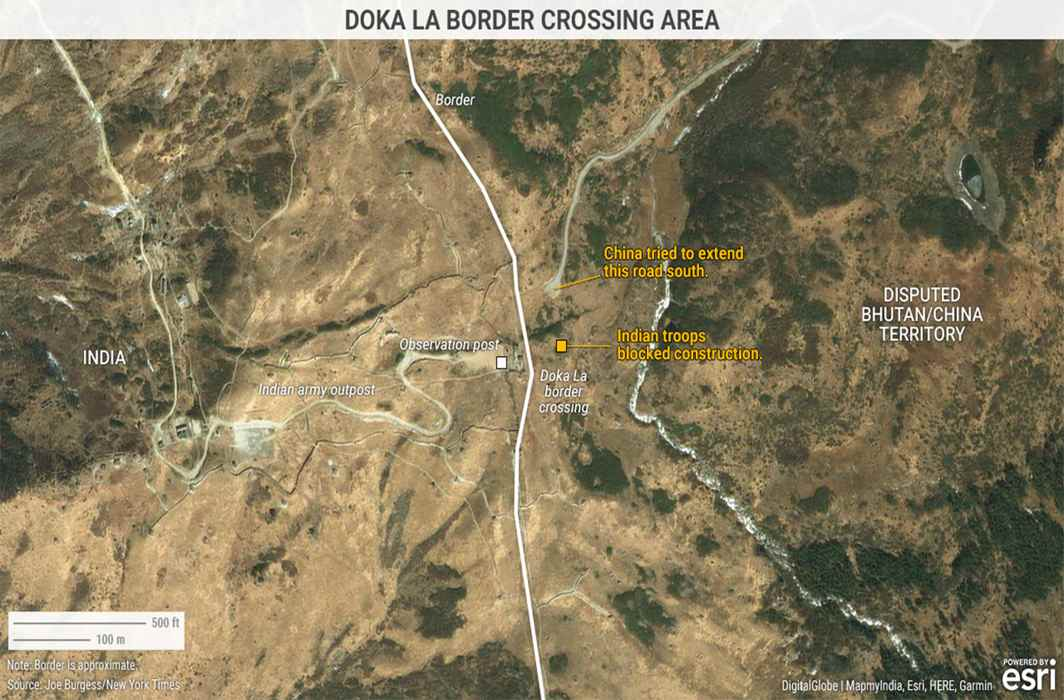 China Justifies Infrastructure Construction At Doklam, Says The Area Is Under Its Jurisdiction