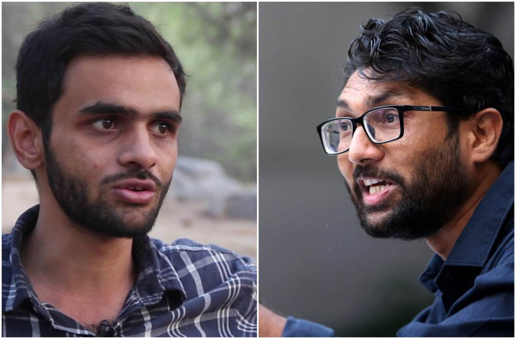 Amid continuing trouble, Jignesh Mevani, Umar Khalid's speeches to be screened online