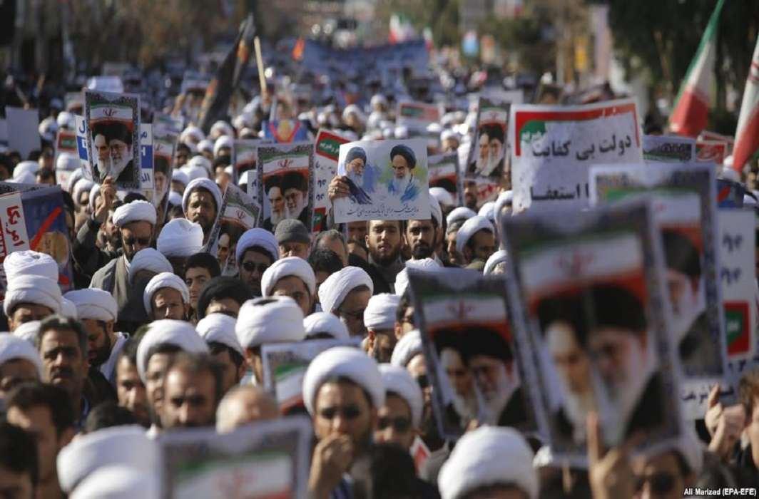 Pro-government demonstrations held across Iran
