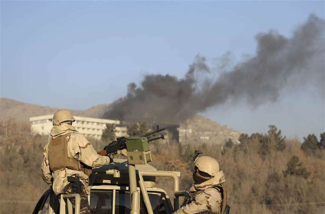 Five killed in a terror attack in a Kabul luxury Hotel