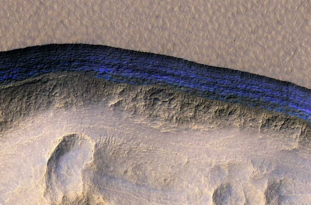 Mars Has Thick Sheets Of Ice Just Beneath Its Surface, May Support Future Human Outposts