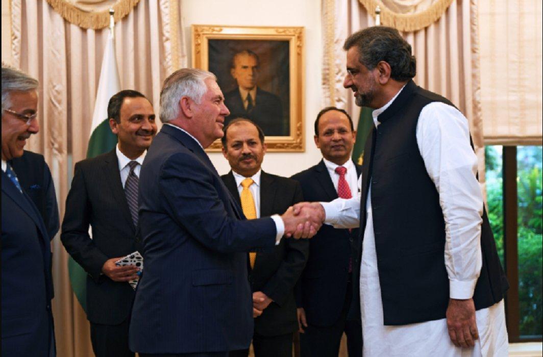 Pakistan reacts tough on Trump's New Year tweet