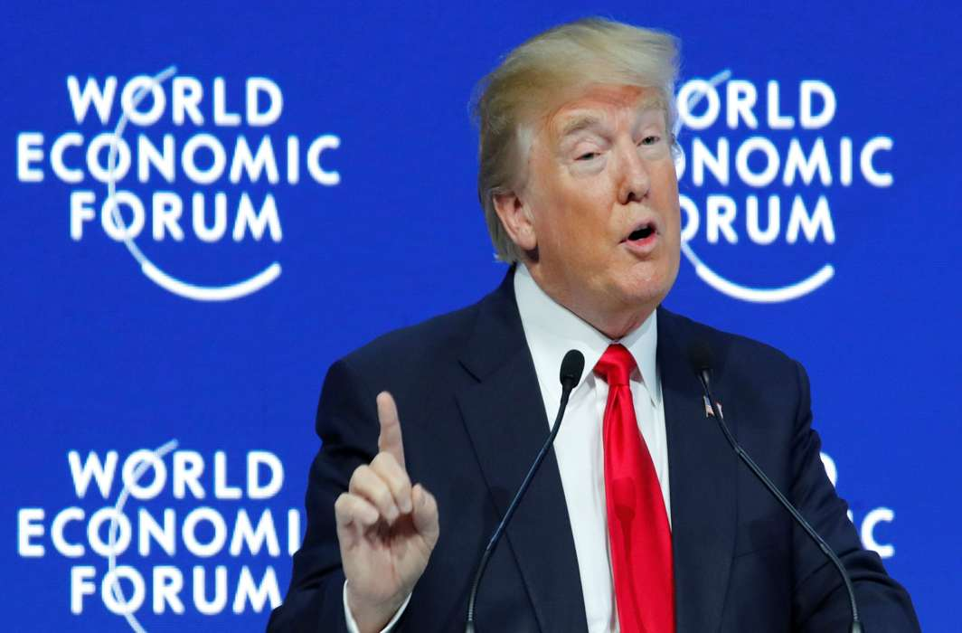 Trump changes tone: America First but not alone