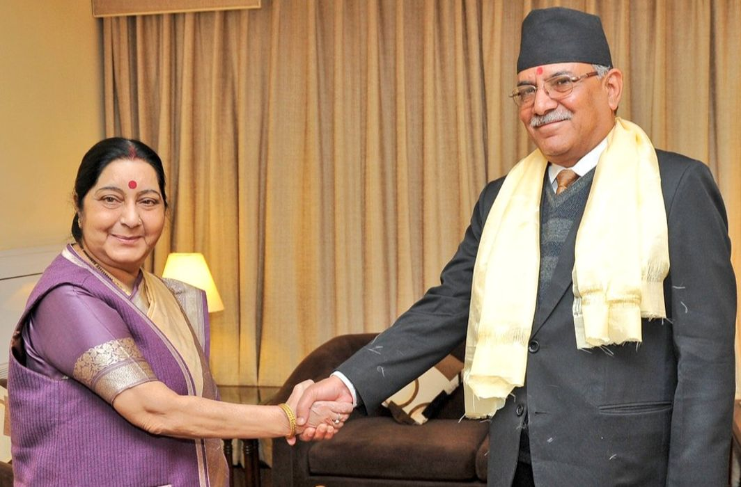 Sushma Swaraj assures support to Nepal in its efforts to attain political stability