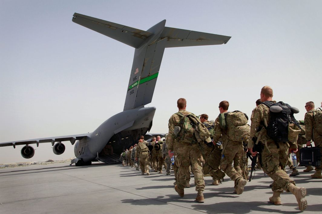US troops start moving from Iraq to Afghanistan