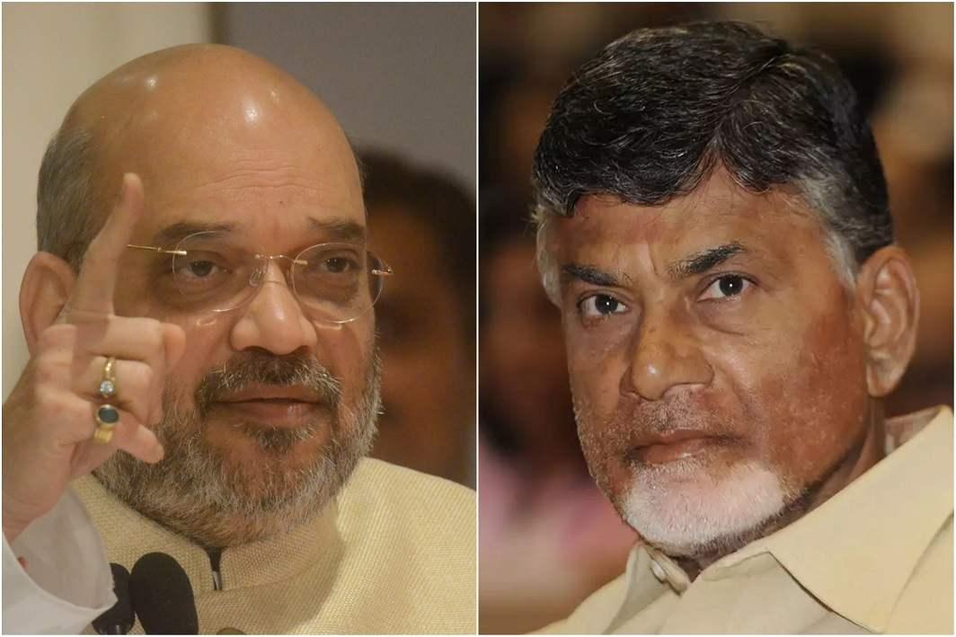 Amit Shah dials Chandrababu Naidu amid TDP stir