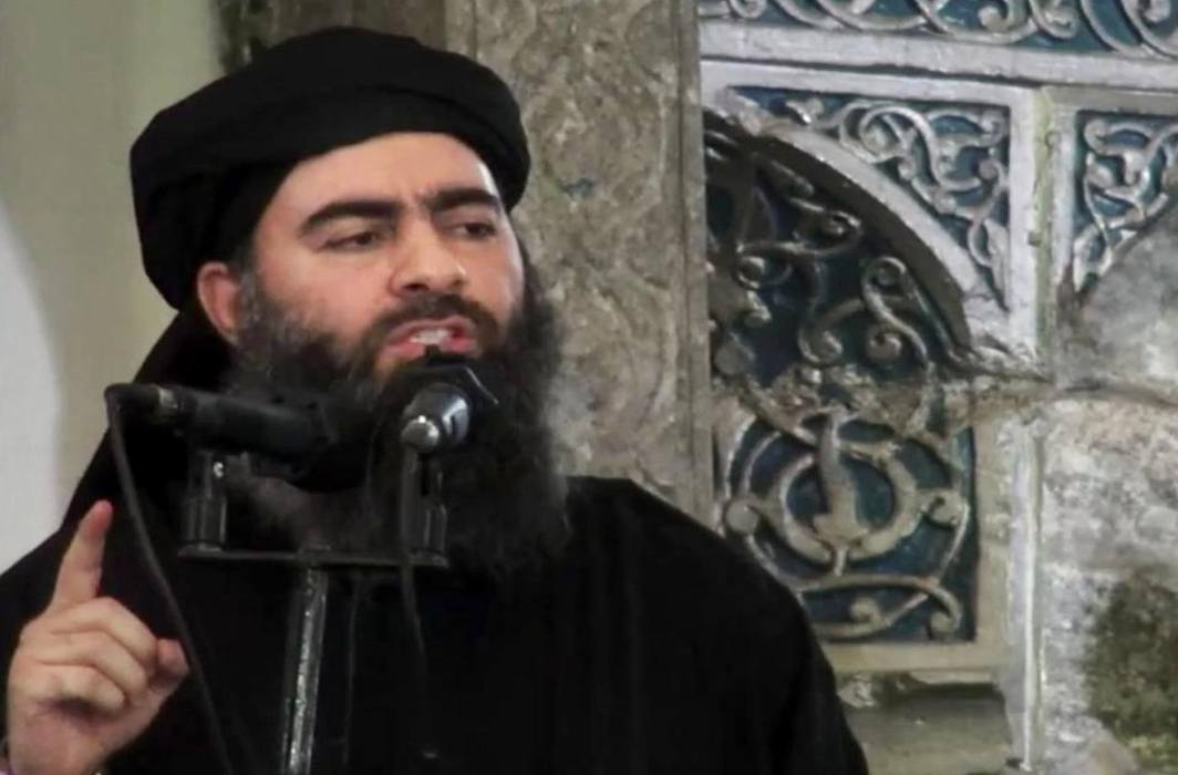 Injured Abu Bakr Al-Baghdadi being treated in Syria