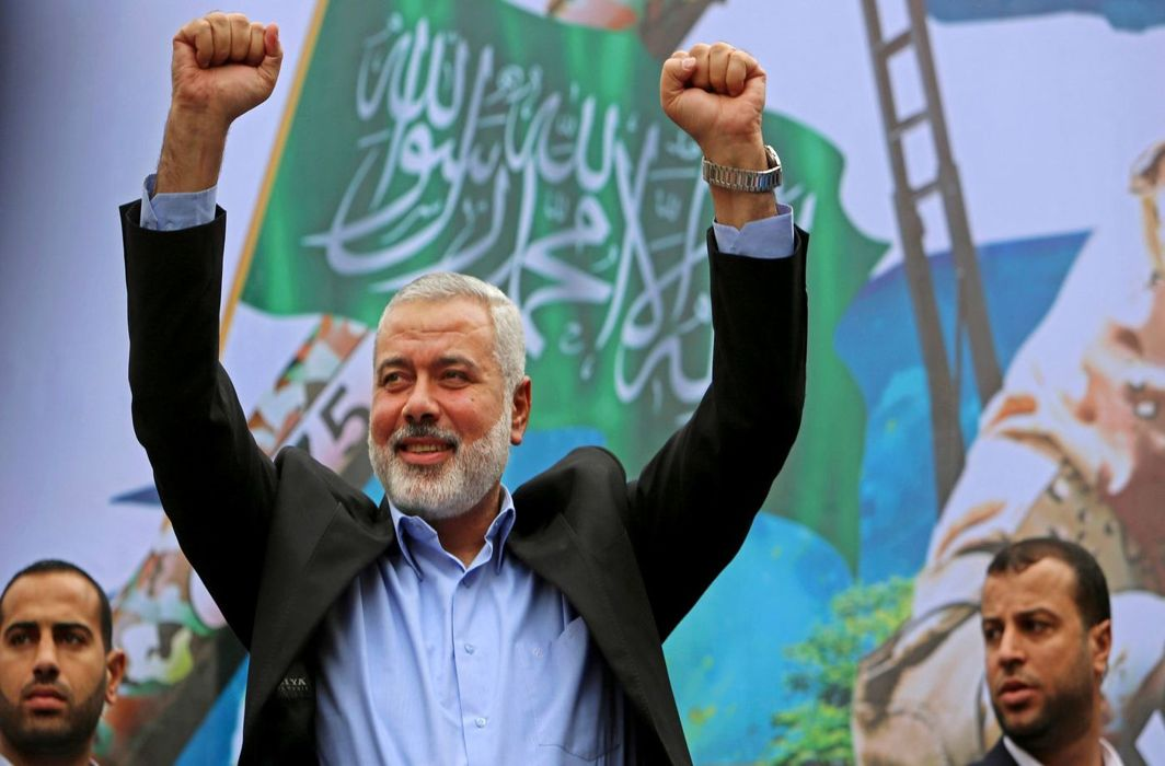 "Hamas; Designation of Haniyeh as"" terrorist"" will not affect struggle"