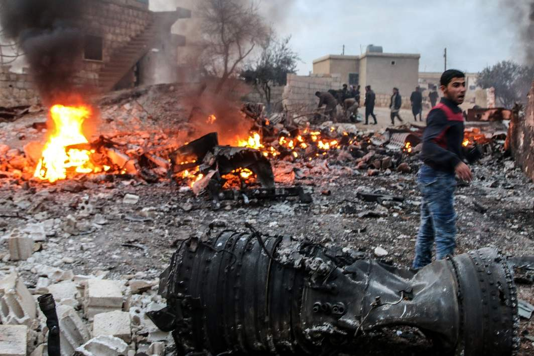 Syrian rebels attack Turkish and Russian forces