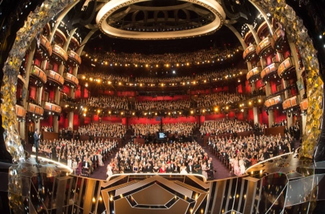 WHAT A GRAND CEREMONY: The stage for the 90th Academy Awards, oscars.org