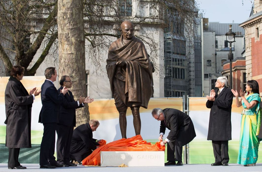 Mahatma Gandhi's statue, Dr BR Ambedkar's bust vandalised after PM and BJP chief's slammed such acts