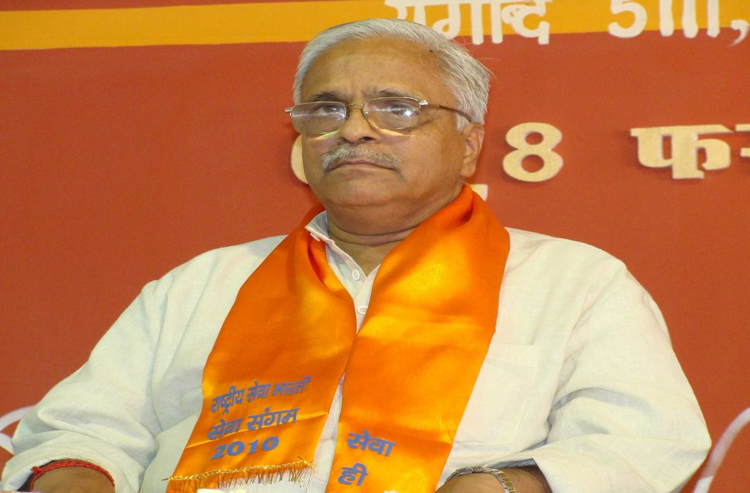RSS avoids change in guard before 2019 polls, Bhaiyyaji Joshi re-elected Gen Secy