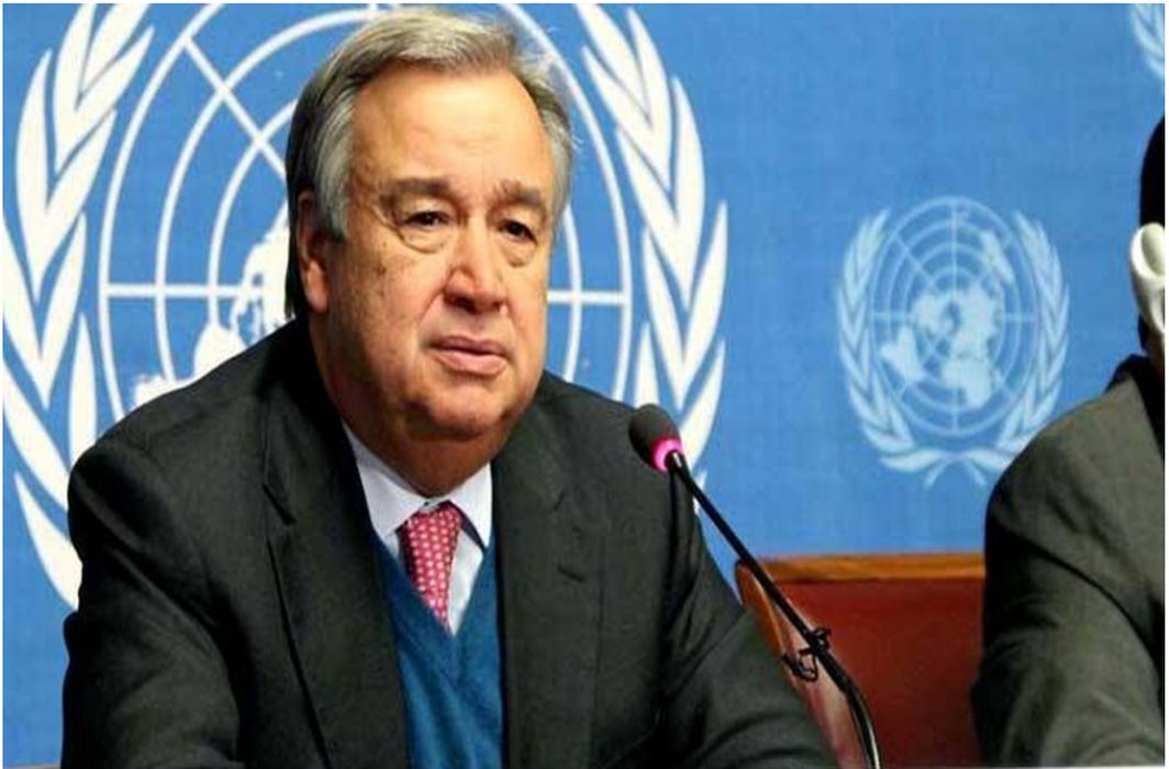 UN Chief asks Security Council to end Syrians' sufferings
