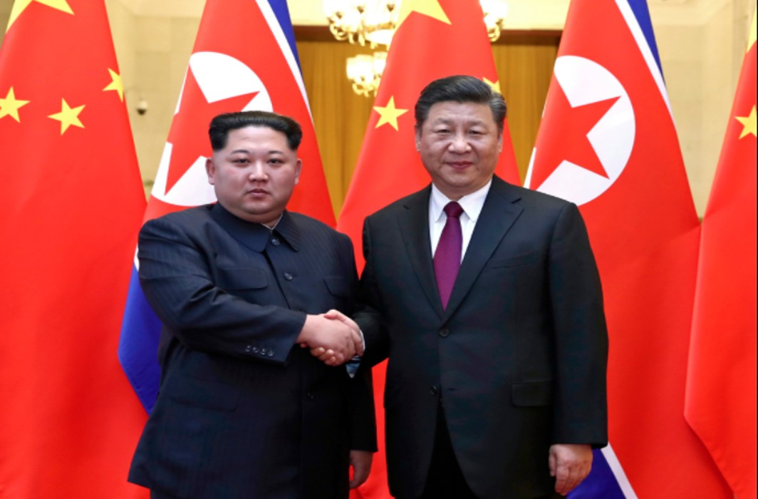 North Korean Leader Kim meets China's Xi in Beijing
