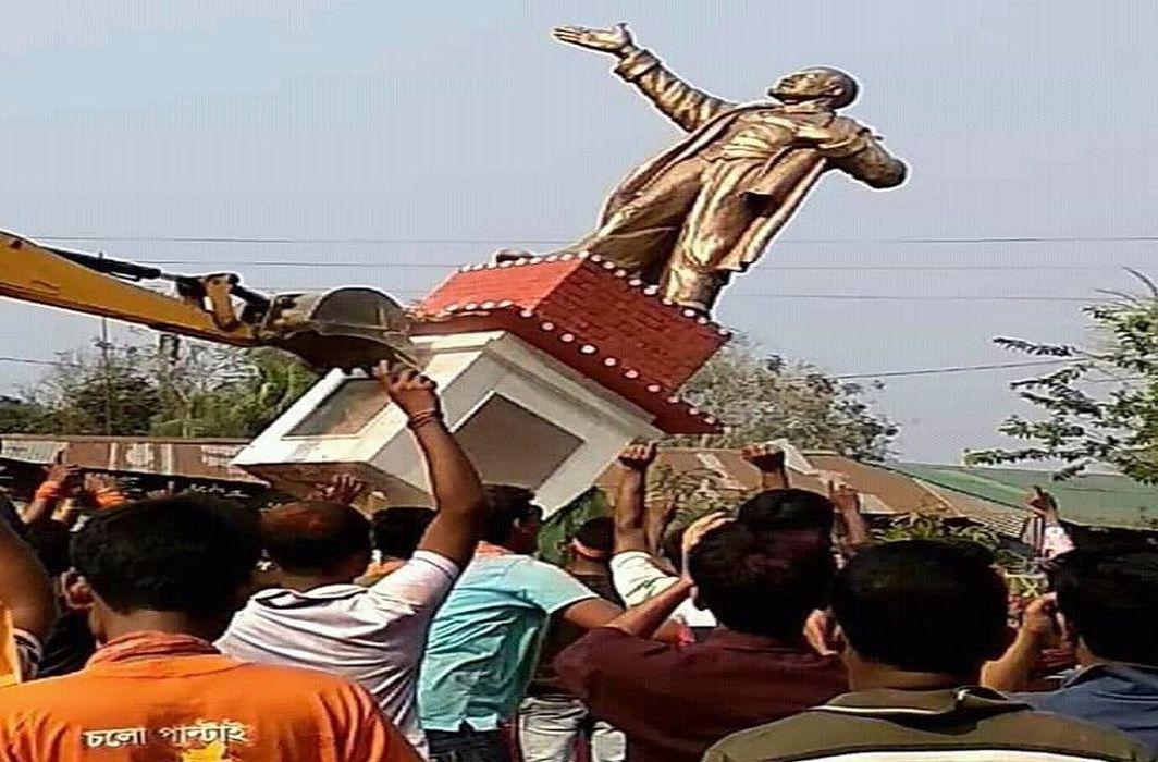 After Lenin and Periyar, Shyama Prasad Mookerji's statue vandalised; Modi wakes up