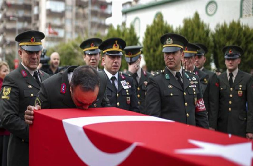 41 Turkish soldiers killed by US backed militia in Syria