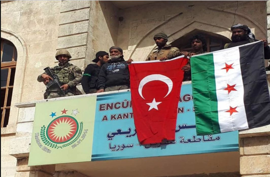 Syria: Turkish forces and anti Assad group capture Afrin