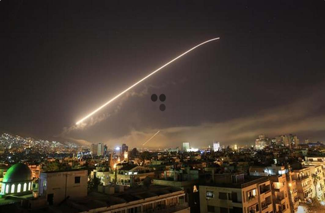 US ked coalition attacks Syria, hits research centre, arms stockpile