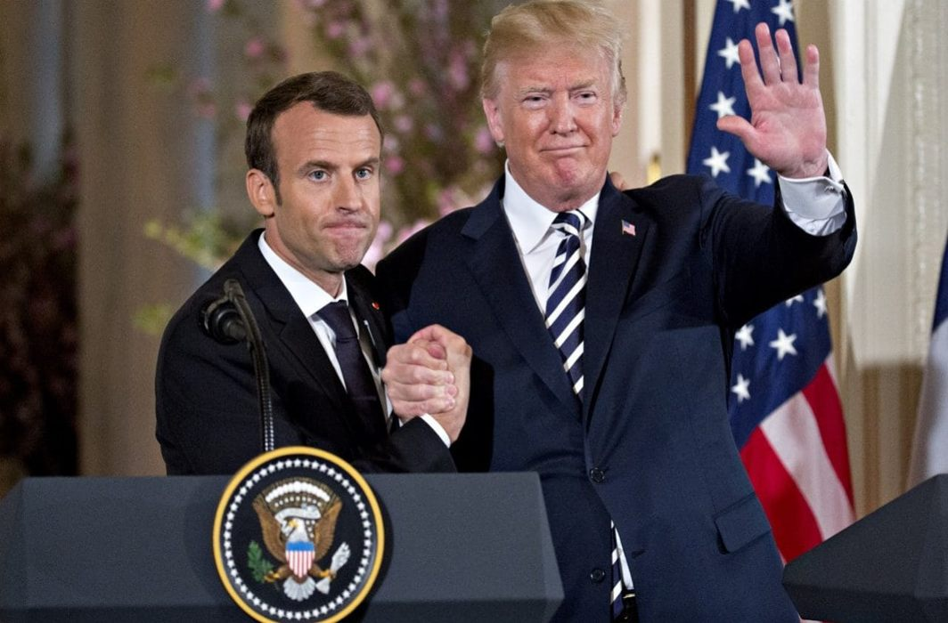 Trump, Macron for new Iran deal, instead JCPOA