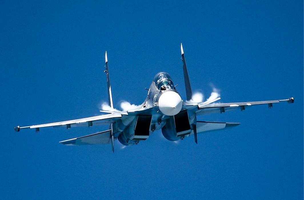 Russian fighter jet crashed in Syria, falls in Mediterranean