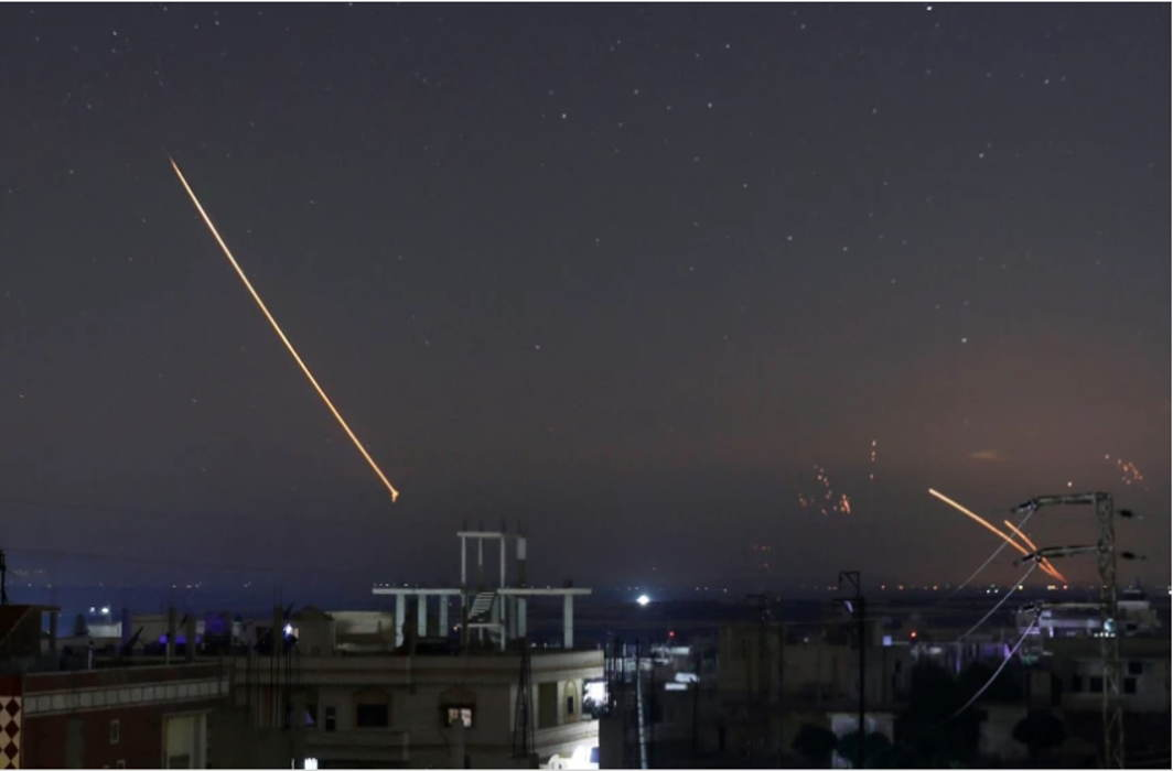 Israel and Syria exchange most extensive missile strikes