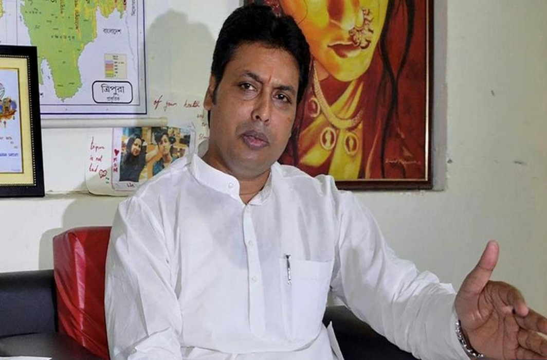 Biplab Deb does it again, now says Tagore returned Nobel; seven bloopers in two months