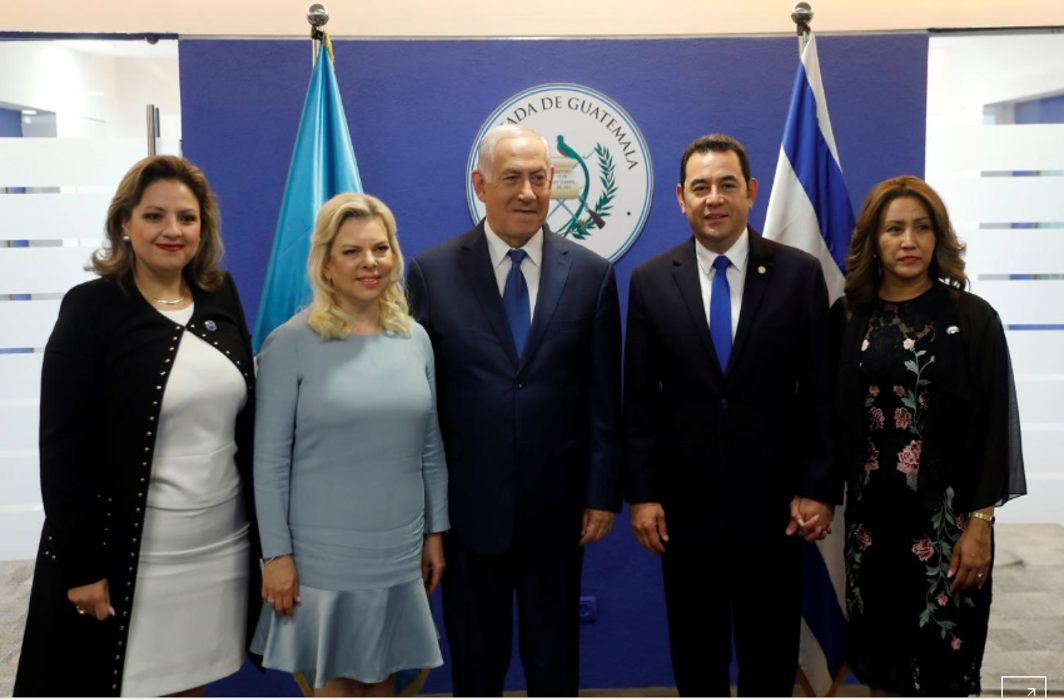 guatemala opens embassy in Jerusalem, after US